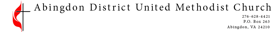 Abingdon District United Methodist Church logo