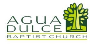 Agua Dulce Baptist Church logo