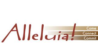 Alleluia! Lutheran Chuch logo