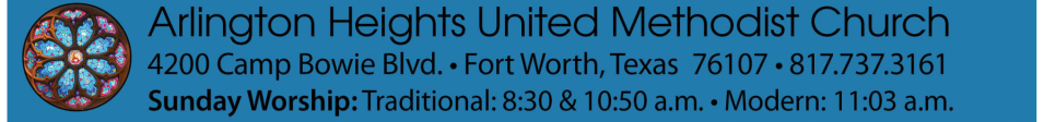 Arlington Heights United Methodist Church logo