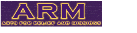 Arts for Relief and Missions  logo
