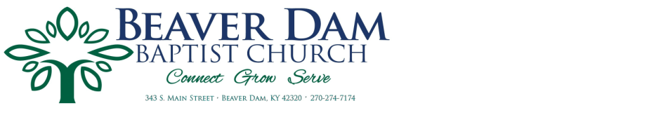 Beaver Dam Baptist Church logo