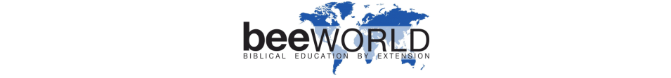 BEE (Biblical Education By Extension) logo