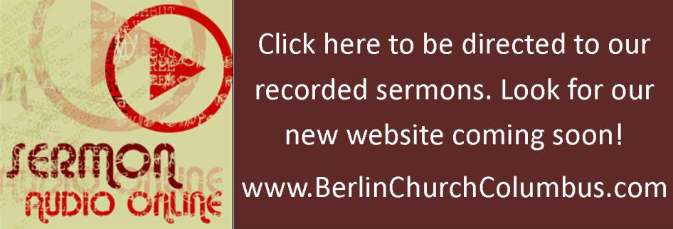 Berlin Presbyterian Church / Sermons