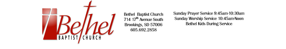 Bethel Brookings logo