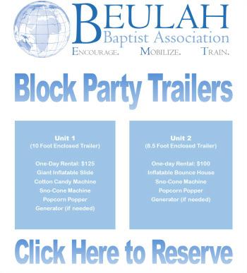 Beulah Baptist Association / Resources / Block Party Units