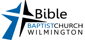 Bible Baptist Church of Wilmington logo