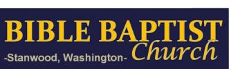 Bible Baptist Stanwood logo