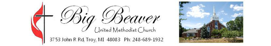 Big Beaver United Methodist Church logo