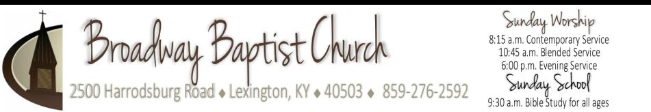 Broadway Baptist Church - Lexington, KY logo