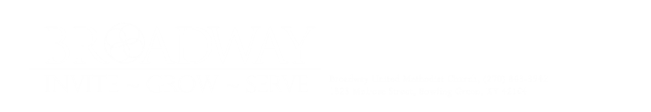 Broadway United Methodist Church logo