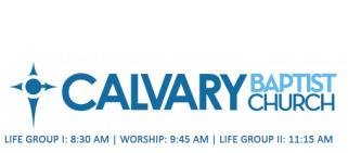 Calvary Baptist Church - Glasgow, KY logo