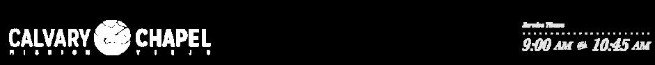 Calvary Chapel Mission Viejo logo