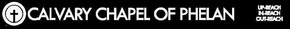 Calvary Chapel of Phelan logo