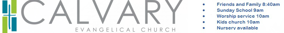 Calvary Evangelical Church logo