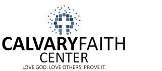 Calvary Faith Center logo