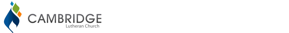 Cambridge Lutheran logo