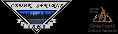 Cedar Springs Camp logo