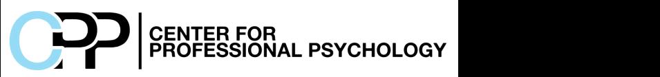 Center for Professional Psychology logo