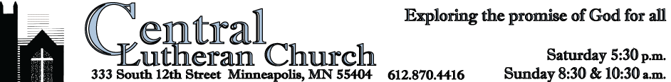 Central Lutheran Church Downtown Minneapolis logo