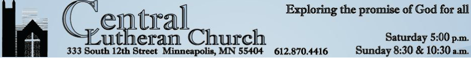 Central Lutheran Church Downtown Minneapolis logo