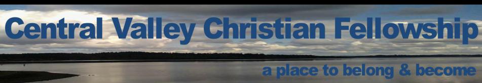 Central Valley Christian Fellowship logo