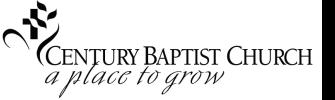 Century Baptist Church logo