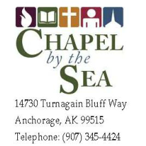 Chapel by the Sea, non-denominational Bible Church, Anchorage, Alaska logo