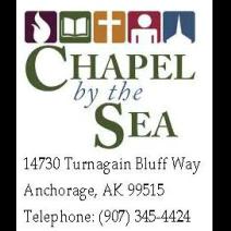 Chapel by the Sea, non-denominational Bible Church, Anchorage, Alaska logo