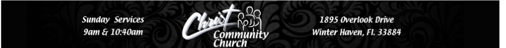 Christ Community Church logo