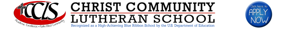 Christ Community Lutheran School logo