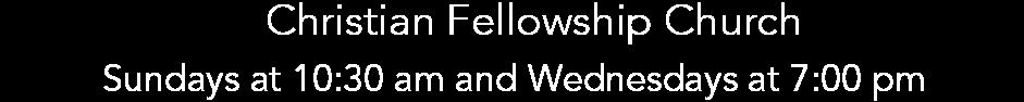 Christian Fellowship Church logo