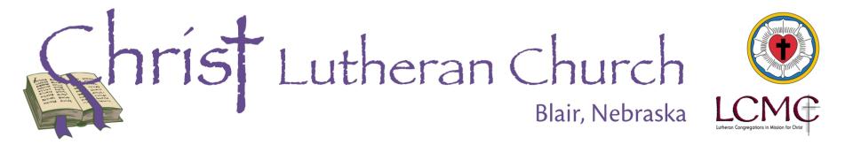 Christ Lutheran Church logo