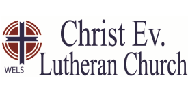 Christ Lutheran Church, Cambridge, MN  763-689-5333 logo