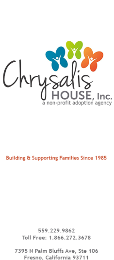 Chrysalis House, Inc. logo