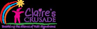 Claire's Crusade logo
