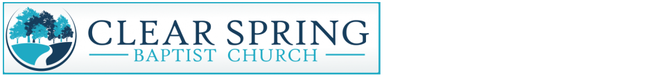 Clear Spring Baptist Church logo