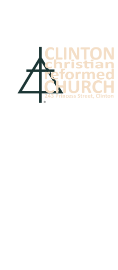 Clinton Christian Reformed Church logo