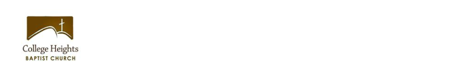College Heights Baptist Church logo
