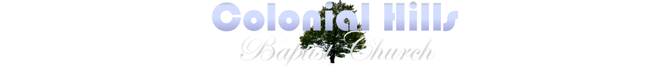 Colonial Hills Baptist Church logo