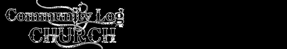 www.communitylogchurch.com logo