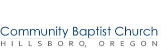 Community Baptist Church of Hillsboro logo