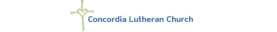 Concordia Lutheran Church logo