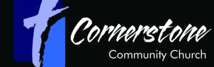 conerstone community church of albia logo