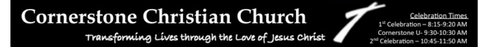 Cornerstone Christian Church logo