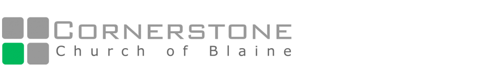 Cornerstone Church of Blaine | Minnesota logo