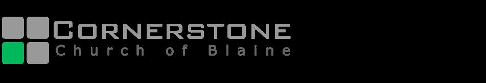 Cornerstone Church of Blaine | Minnesota logo