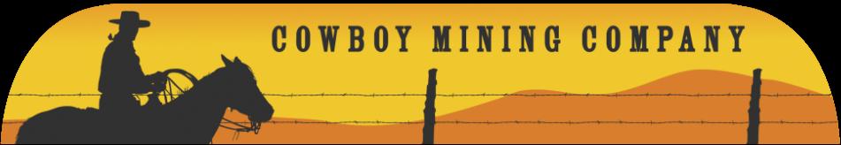 Cowboy Mining Company – Bentonite Mining logo