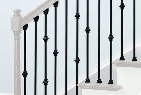 Perfect IRON BALUSTERS U0026 Newels