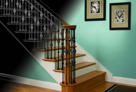 Make A Statement With Creativeu0027s Iron Collection. The Styles Offered By  Creative Are Skillfully Crafted And Are Sure To Add Charisma To Your  Stairway.